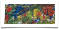 "Abstract 4 :: Oil on Canvas :: 34"" x16"" :: £ 690"