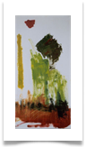"Abstract Landscape :: Oil on Canvas :: 34"" x 18"" :: £ 865"